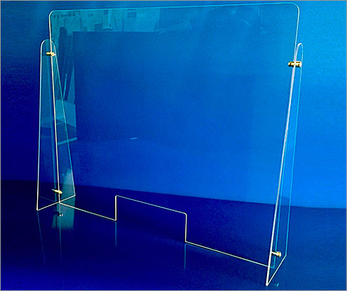 Clear Acrylic Barrier
