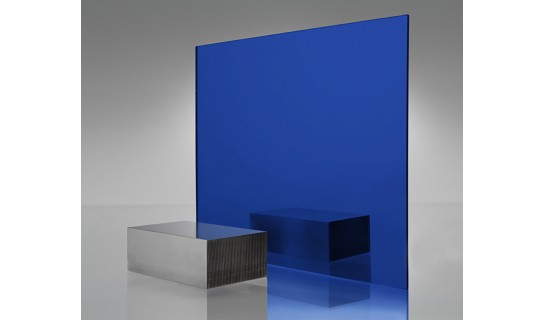 Colored Mirror Acrylic Blue