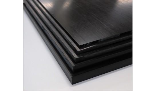 "3-1//2/"" x 4/"" x 4/"" Black Acetal Sheet"