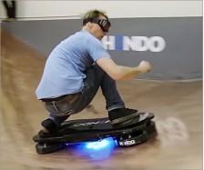 Acrylic Hoverboard