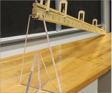 Acrylic Physics Stand