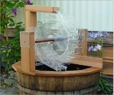 Water Wheel Garden Fountain