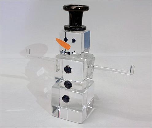 Acrylic Snowman