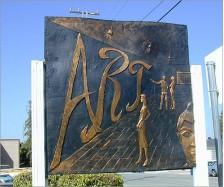 Art Studio Signage