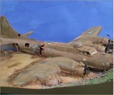 B-17 Airplane