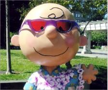 Charlie Brown Statue