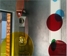 Transparent Colored Acrylic Circles