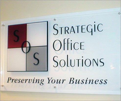 New Corporate Signage