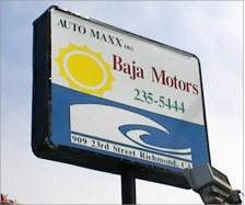 Dealership Sign
