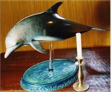 Sculptured Dolphin Art