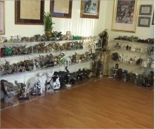 Elephant Collection Display