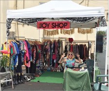Joy Shop Sign