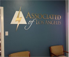 Associated of Los Angeles Signage