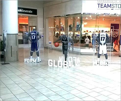 Sacramento Kings Displays