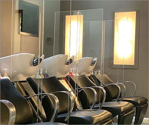Salon Barriers