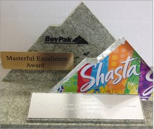 Shasta Acrylic Mountain Award