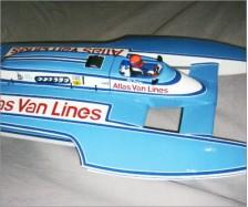 Model Speedboat