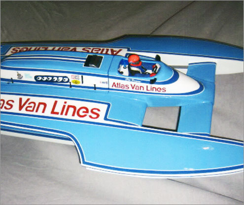 Model Speedboat