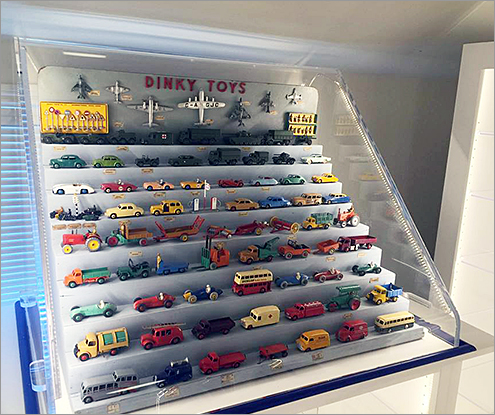Toy Car Acrylic Display