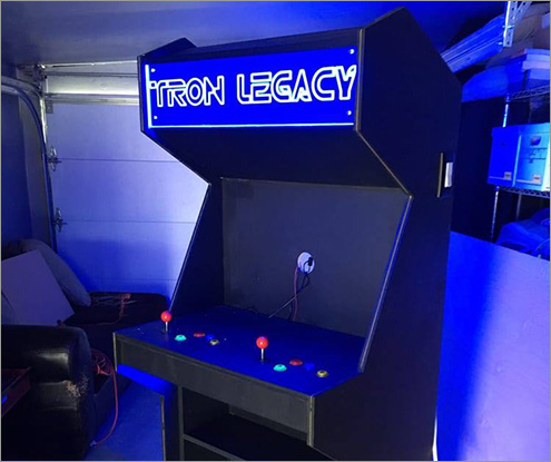 Tron Arcade Display