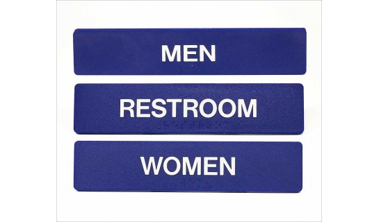 ADA Signs • Men #SB448
