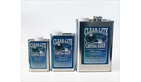 Clear-Lite Casting Resin, 1 pint