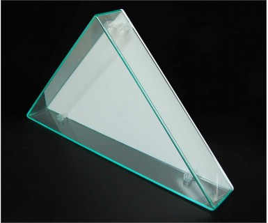 Flag Display Case - Green Edge