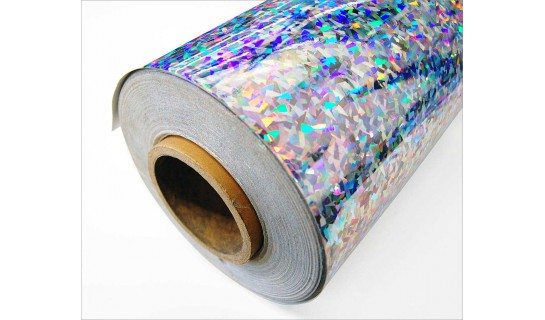 Holographic Film Crystals 12 inches wide per foot