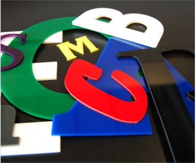 Laser Cut Acrylic Letters Signage