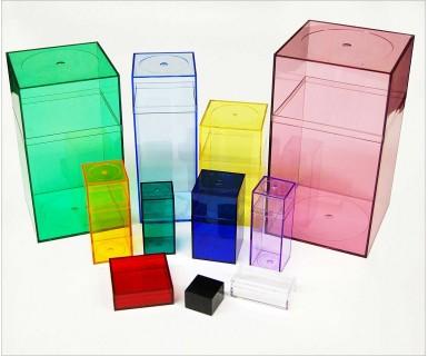 Colored Plastic Box M510 (10 ct)