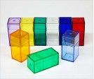 Colored Plastic Box M510 (10 ct)
