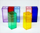 Colored Plastic Box M515 (10 ct)