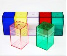 Colored Plastic Box M530 (10 ct)