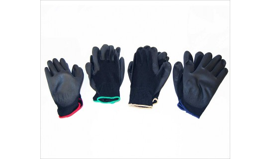 Polyurethane Coated Gloves-Small (1 Pair)