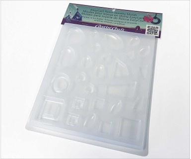 EasyCast Resin Jewelry Mold #1 - 11 Shapes