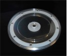 9 in Revolving Display Base Clear