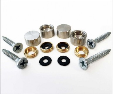 Stainless Steel Screw Covers