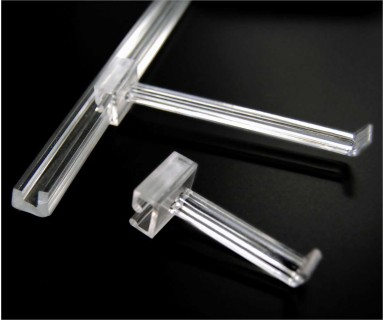 Acrylic J-Bar Hook Attachment