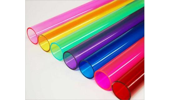 Colored Acrylic Tubes Tap Plastics