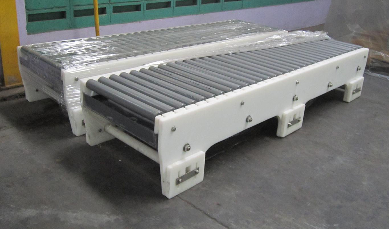 HDPE cut into custom shape for industrial machine