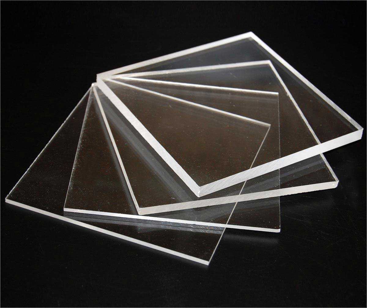 8 pcs of Clear Acrylic PLEXIGLASS 1//8 Thick 12 X 12 Plastic Sheet