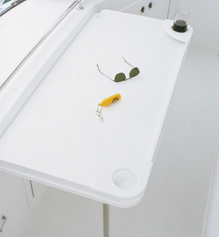 Outdoor plastic cutting board surface